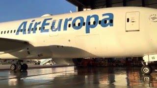 Presentación Boeing 787 Dreamliner AirEuropa