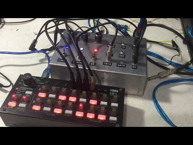 Harsh Noise Stompbox Modular Version or HNS Mod Synth