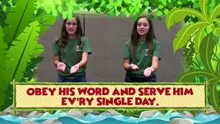 "VBS 2018 Jungle River Adventure - Theme Song ""It's a Jungle"""
