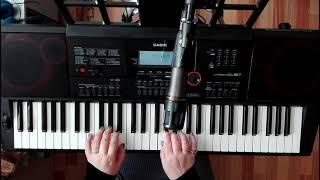 "Видеоурок на синтезаторе ""Королек - птичка певчая"""