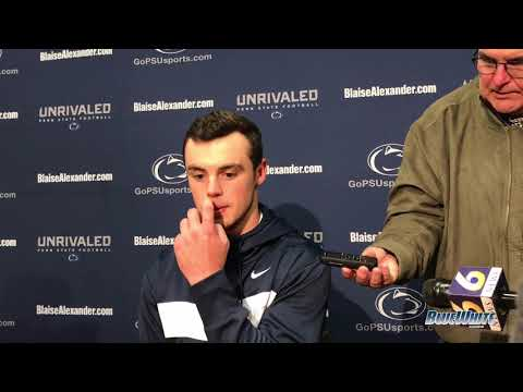 Penn State Nittany Lions Football: Trace McSorley - Indiana postgame