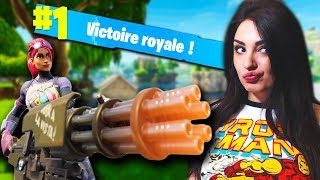 THE MINIGUN ON FORTNITE? CHEAT? Or not?