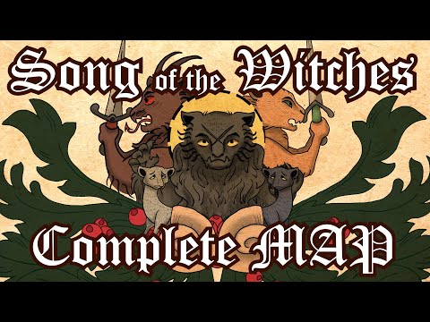 Song Of The Witches [COMPLETE Medieval Warrior Cats MAP]