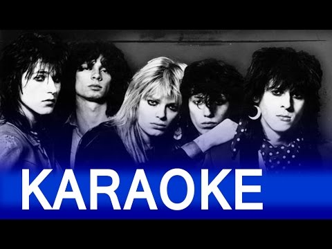 Hanoi Rocks – Don't You Ever Leave Me Lyrics Instrumental Karaoke