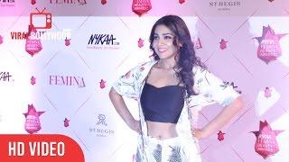 Shriya Saran At 3rd nykaa Femina Beauty Awards 2017