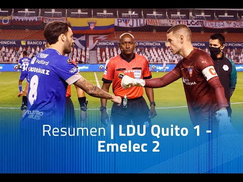 LDU Quito Emelec Goals And Highlights