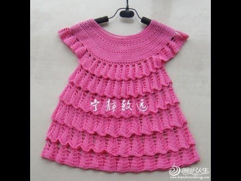 Crochet Patterns For Free Crochet Baby Dress 174 Youtube