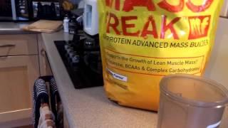 PharmaFreak - Mass Freak Mix/ Taste Test - @AndroSupplement