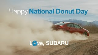 Donuts Made Quick with a 2018 Subaru WRX | Happy Donut Day thumbnail