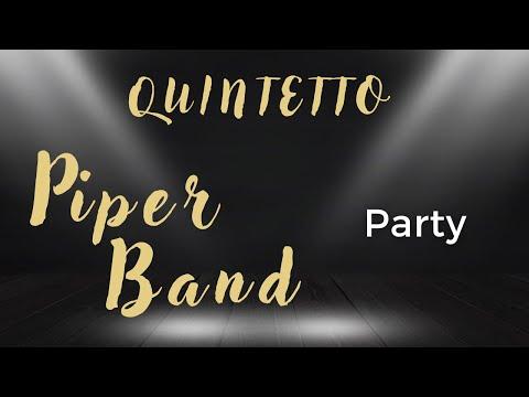 Piper pop band quintetto con sax e chitarra - Party e Balli live