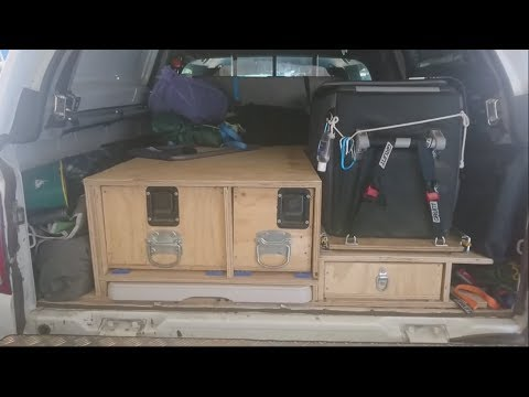4wd Drawers -DIY - Mitsubishi Triton MQ - Part 2