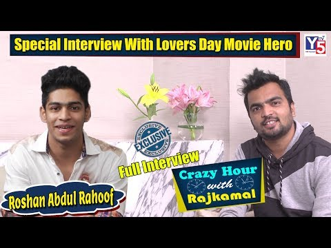 SPECIAL CHIT CHAT With Oru Adaar Love Fame Roshan Abdul Rahoof | Crazy Hour With Rajkamal | Y5 Tv