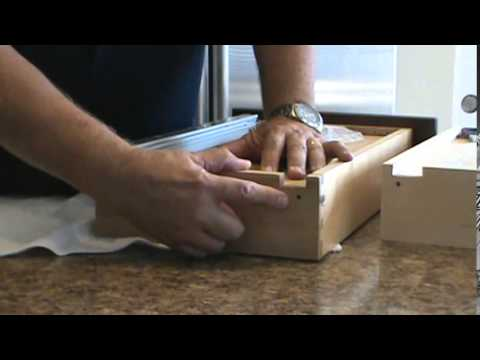 How to Install a KV Soft-Close, Concealed MuV Drawer Slide