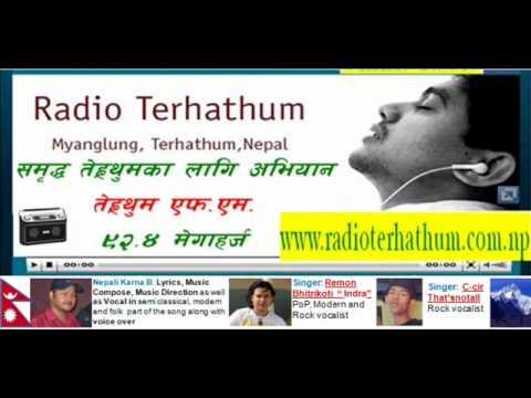 Karna B. Nepali In Signature Song Of Radio Terhathum 92.4.
