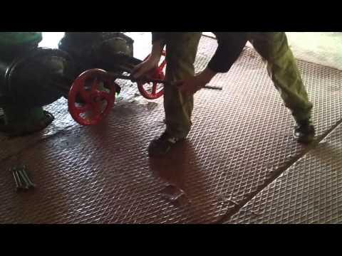 Как сделать и монтировать задвижку из нержавейки в чугунную трубу для печки