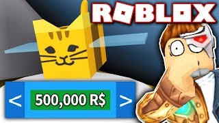 MIT ALL MY ROBUX TO BUY NEW TABBY BEE!! (Roblox Bee Schwarm Simulator)