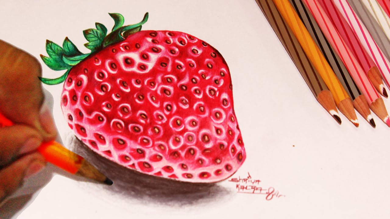 Strawberries Pictures To Color