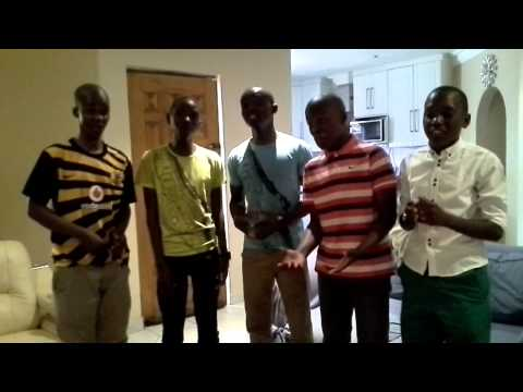 Mighty Voices South Africa singing Gia il selo