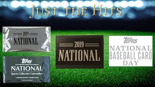 Just the Hits - Recap of Last Week's Hits -  Black Box!  National Packs!  20 WWE auto piece!