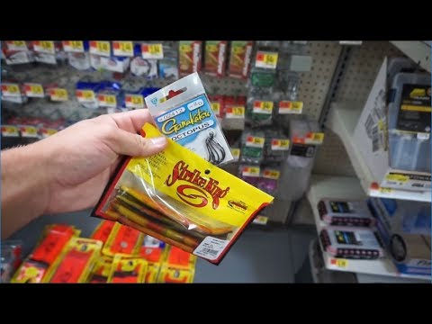 The best fishing lures at walmart youtube for Fishing lures at walmart