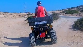 QUAD BIKES & CRAZY CLIFF DIVING!