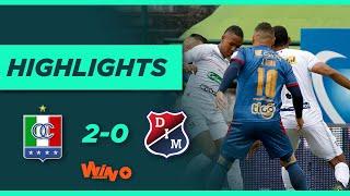Once Caldas vs Medellín (Goles y Highlights) Liga BetPlay Dimayor 2021-1   Fecha 19