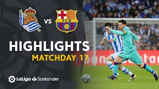 Highlights Real Sociedad vs FC Barcelona (2-2)