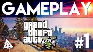 GTA 5 PC Gameplay Part 1 - Prologue & First Mission (1080P 60FPS)