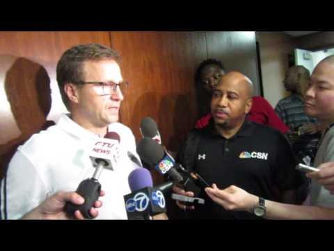 Wizards Head Coach Scott Brooks Interview Before Summerleague