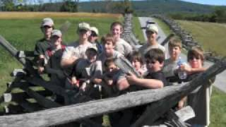 Troop 303 Visits Antietam National Battlefield