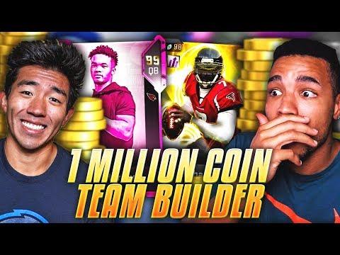 1 MILLION COIN SPENDING SPREE TEAM BUILDER VS WALKER! Madden 19 Ultimate Team