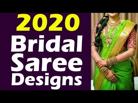 2018 Mind blowing Wedding Sarees Collection |  20 Gorgeous South Indian Bridal Saree Designs