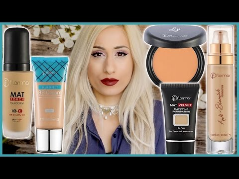 Best & Worst FLORMAR FOUNDATIONS OVERVIEW 👎👍   Review + Demo