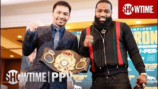 Pacquiao vs. Broner: Los Angeles Press Conference | SHOWTIME PPV