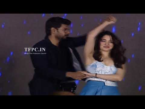 Sundeep Kishan and Tamanna Cute Dance Performance @ Next Enti Movie Pre Release Event   TFPC