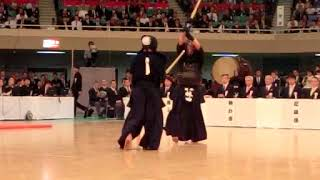 SlowMotion - HAYASHIDA's M (vs UCHIMURA) - 65th All Japan KENDO Championship - Semi final 61