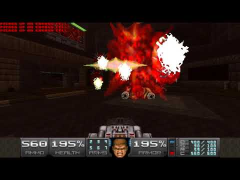 Back to Saturn X E1 (2017 Release) - Map18: Cyclone Utilities (Remember Your Birthday)