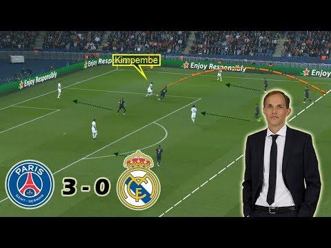Thomas Tuchel's Tactical Masterclass | PSG vs Real Madrid 3-0 | Tactical Analysis