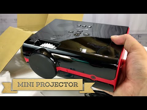 Mini 1080p LED Projector by Paick Review