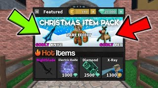 *NEW* MM2 Christmas Item Pack?! (Roblox)