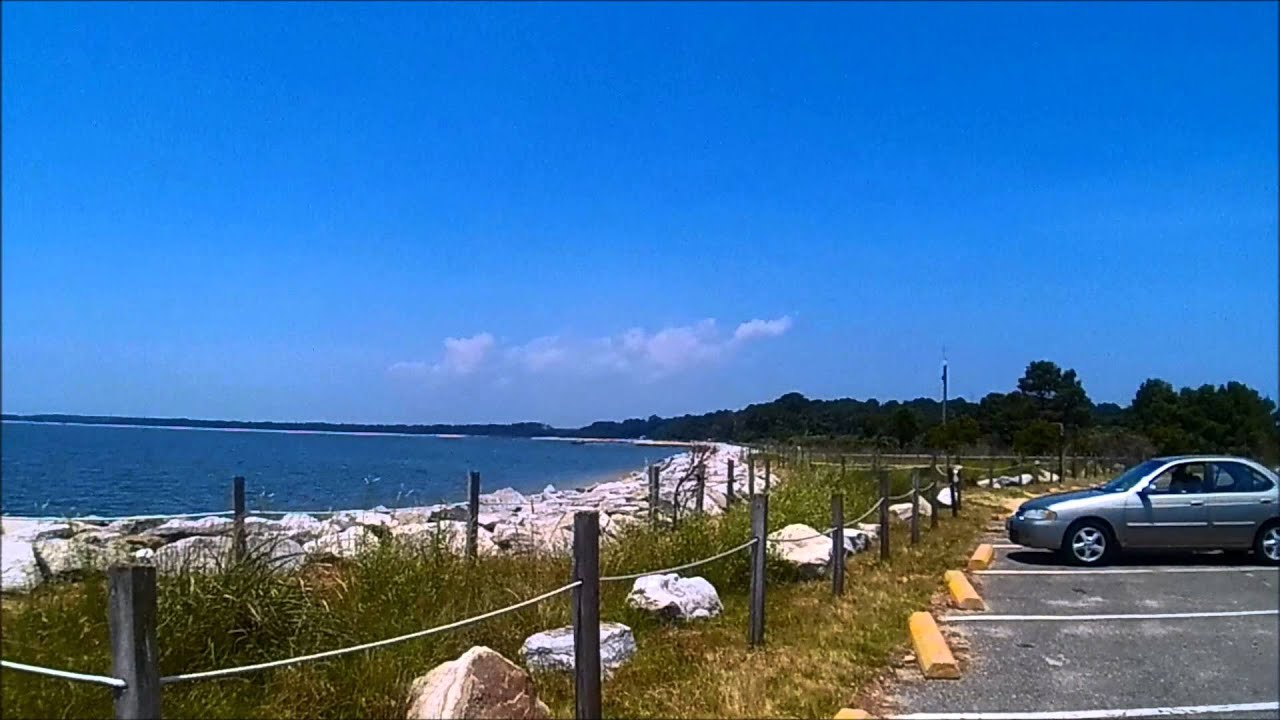 Point lookout state park md youtube for Md fishing report point lookout