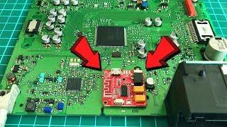 Teyp İçerisine Bluetooth Modül Montajı Nasıl Yapılır? Detaylı Anlatım! Bluetooth - AUX IN