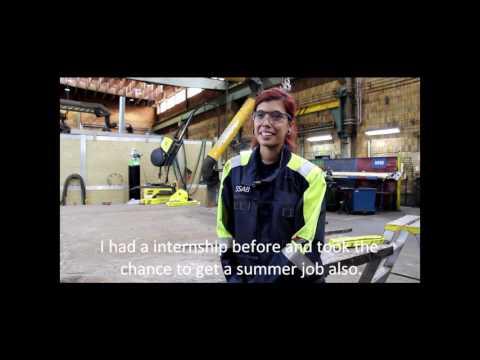 SSAB Oxelösund summerworker 2016