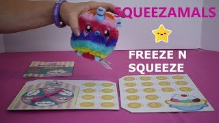 Squeezamals Freeze N Squeeze Game How To Play