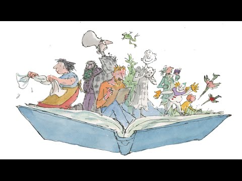 City students meet artist Sir Quentin Blake