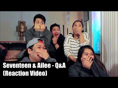 Seventeen & Ailee - Q&A || Reaction Video