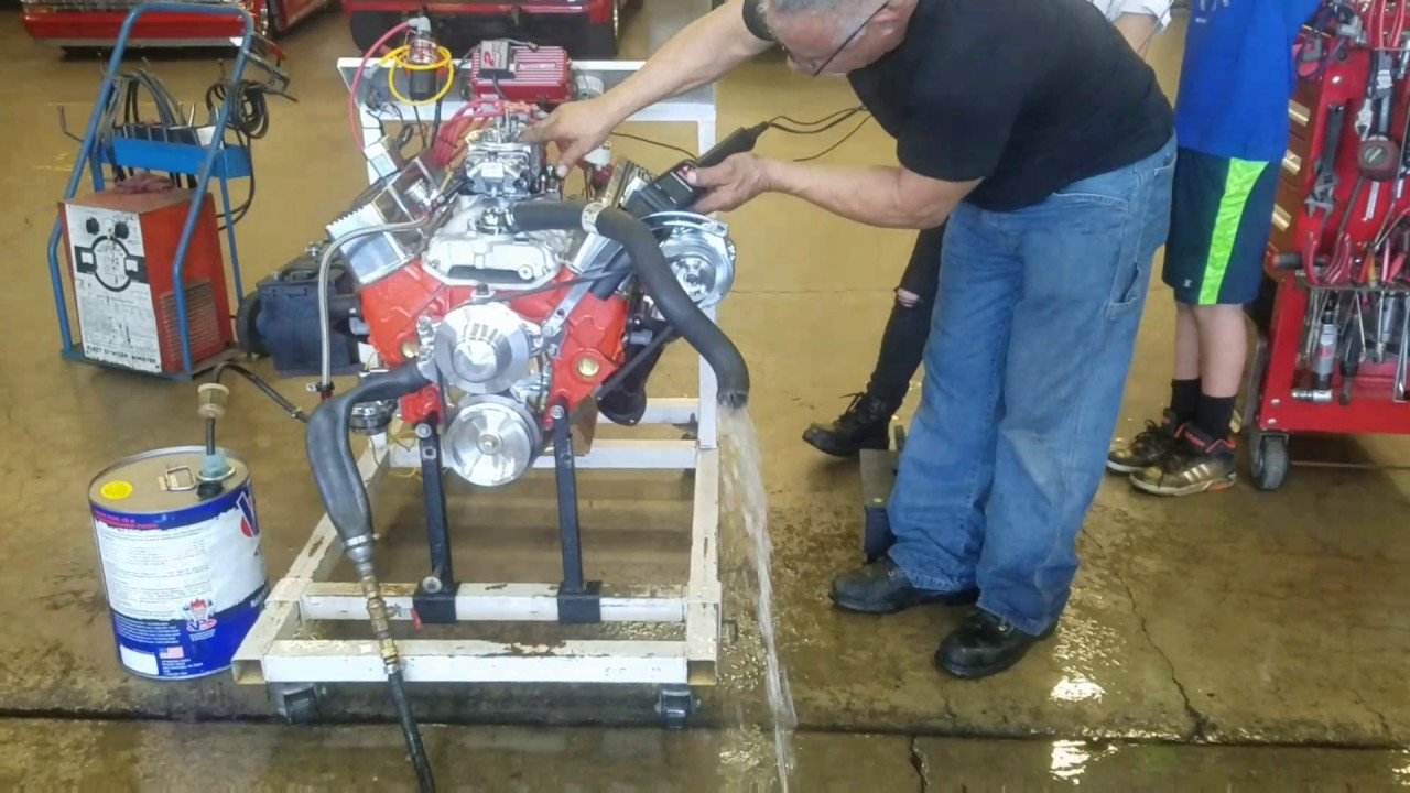 327 small block chevy engine | maloof racing engines