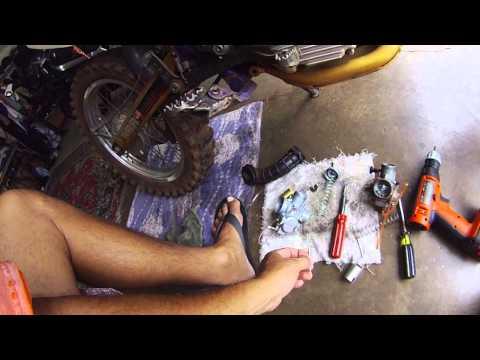 Yamaha TTR 125 L 2001 VM 24 Mikuni Carburator Carb Replace