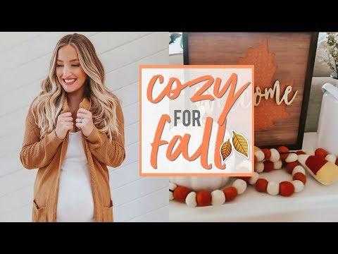 GET COZY FOR FALL | Pumpkin Bread Recipe, Fall Decor, + Diffuser Blends!