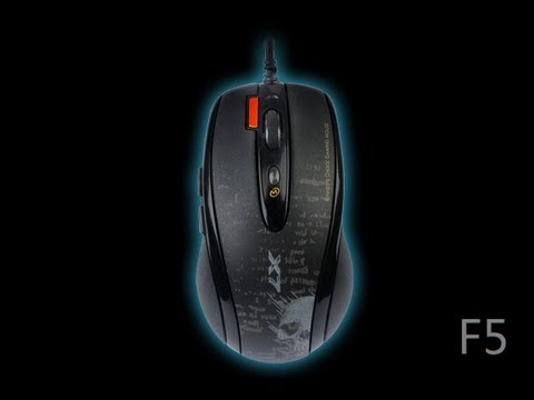 Обзор A4Tech F5 - YouTube